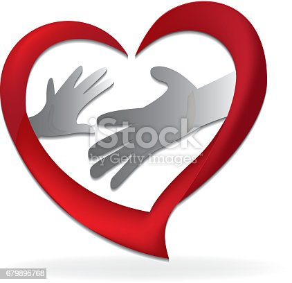Family Hands Mother And Son Symbol Stock Vector Art More Images Of