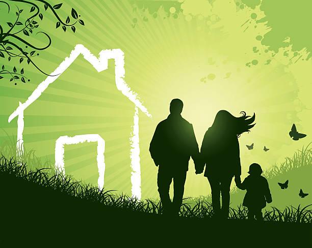 Family Home INSPECTOR: standard Illustrator CS3 brush used real estate vector free stock illustrations