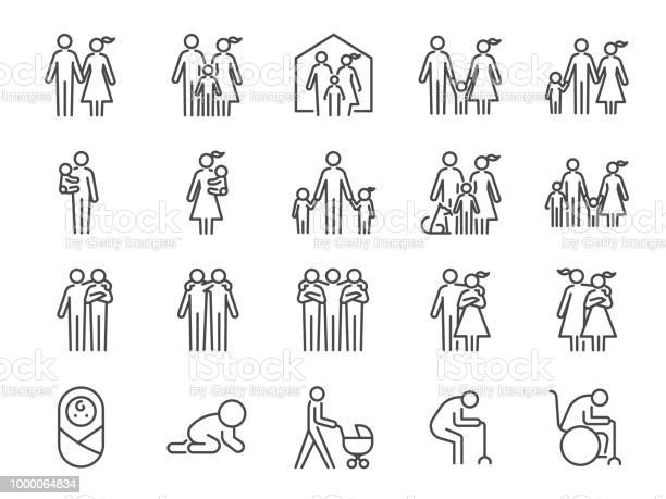Family icon set included icons as people parents home child children vector id1000064834?b=1&k=6&m=1000064834&s=612x612&h=0ehlynfvoh0qu7ycgj2cip3mbin6zjwis pg viqk4u=