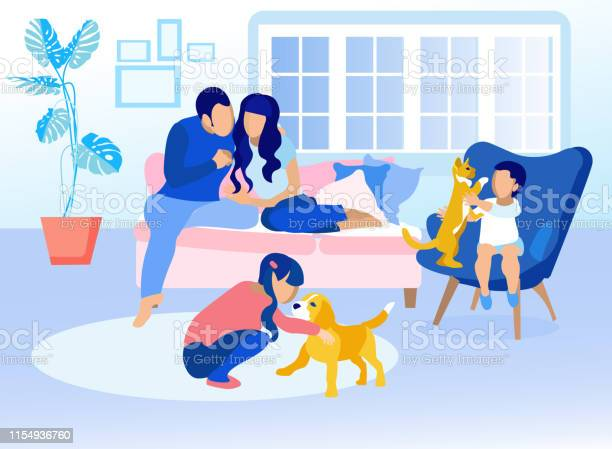 Family in living room at home cartoon illustration vector id1154936760?b=1&k=6&m=1154936760&s=612x612&h=1mlmwsevsxgq7uie4pteoil sb3yle1aadzleiafhum=