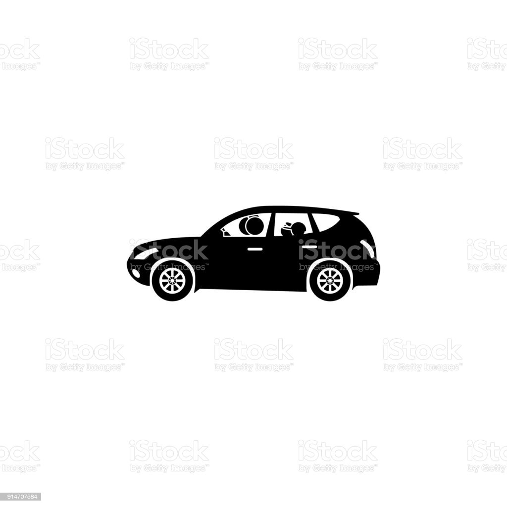 Family in the car icon elements of happy family icon premium family in the car icon elements of happy family icon premium quality graphic design biocorpaavc Choice Image