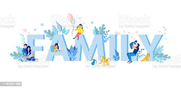 Family letters with small family members figures vector id1152351468?b=1&k=6&m=1152351468&s=612x612&h=egljgzcvsjq5kglh h8mf1uhpudt qtamt mcrjxzpo=
