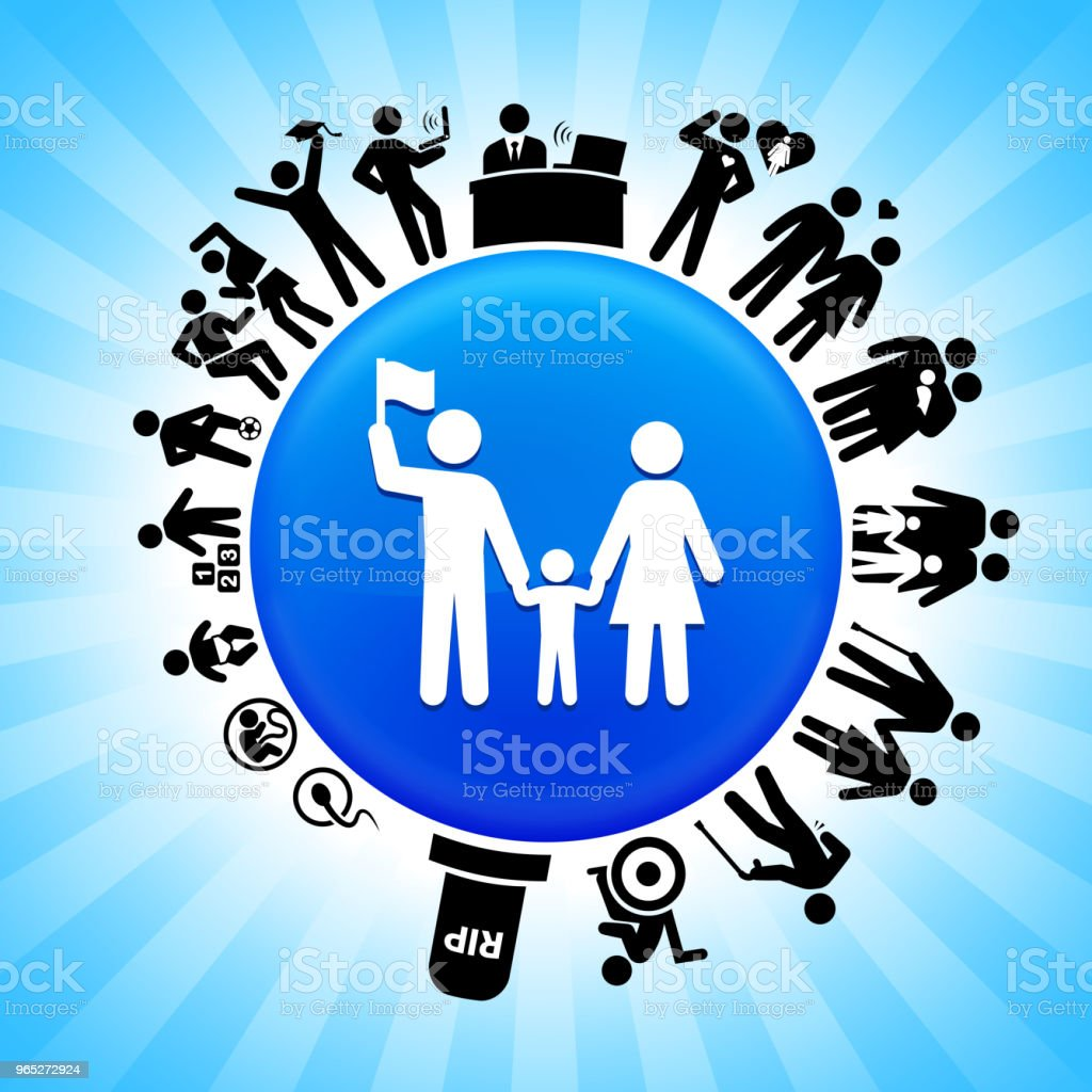 Family Lifecycle Stages of Life Background royalty-free family lifecycle stages of life background stock vector art & more images of adolescence