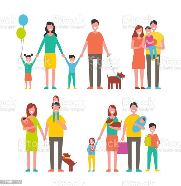 Family members cartoon characters walking together vector id1166811432?b=1&k=6&m=1166811432&s=612x612&h=ottc9xv8k3wiythyi rwa17upvsuccdc6be9haviggq=