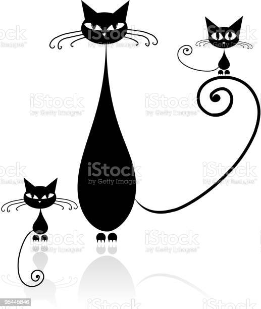 Family of cats mother with children vector id95445846?b=1&k=6&m=95445846&s=612x612&h=lor3aophipjoxzetipqzqztvwodkzxwxx wu jrpxps=