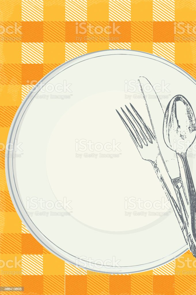 Ilustración De Familia Almuerzo Campestre Diseño De