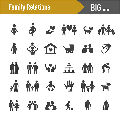 Family Relations Icons - Big Series