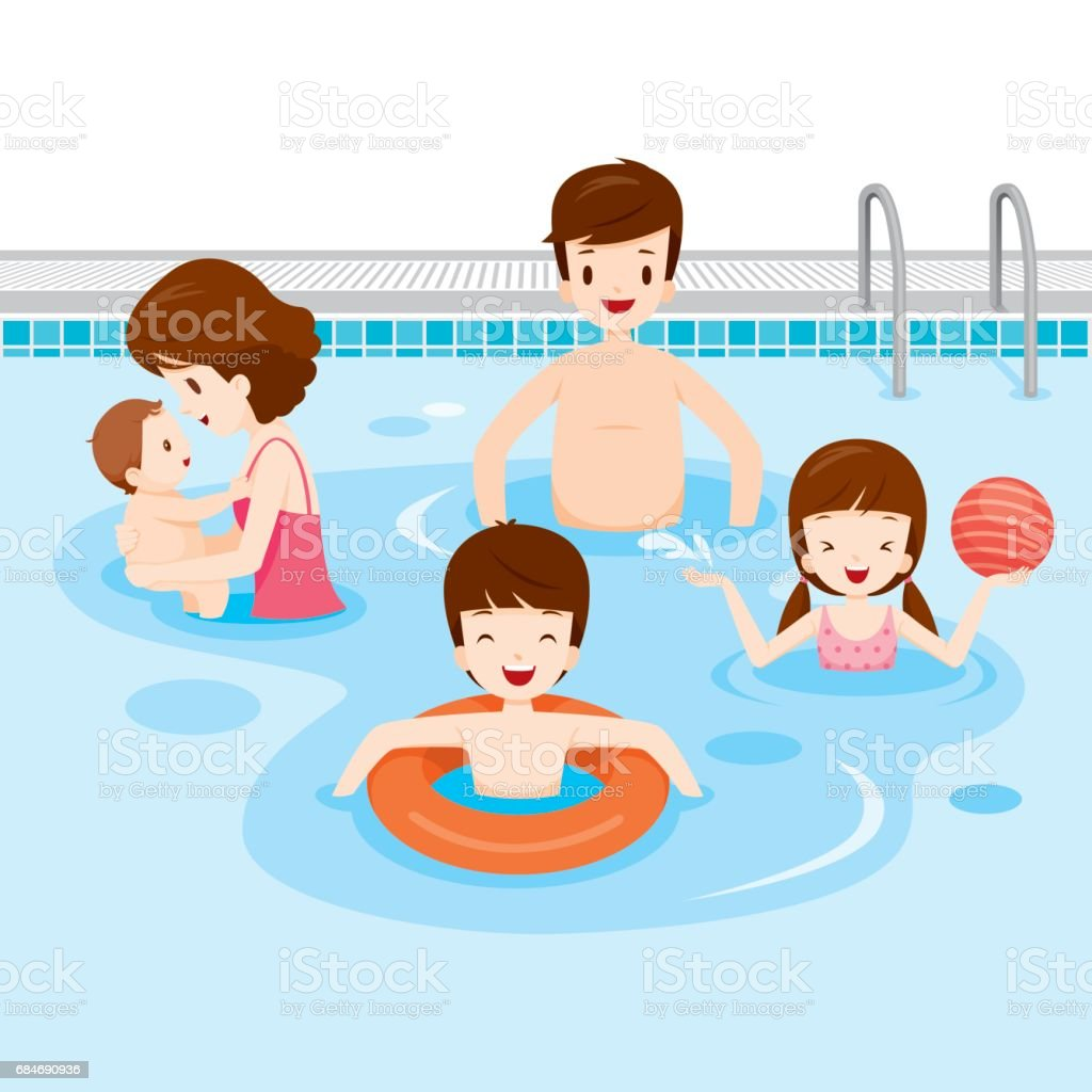 royalty free swimming pool ball clip art vector images rh istockphoto com clip art swimming people clip art swimming pool