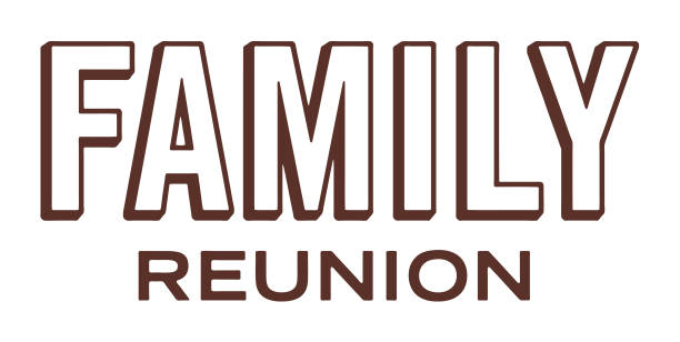 family reunion - family reunion stock illustrations, clip art, cartoons, & icons