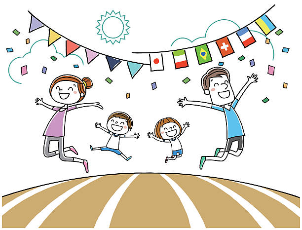 Best Sports Day Illustrations, Royalty-Free Vector ...