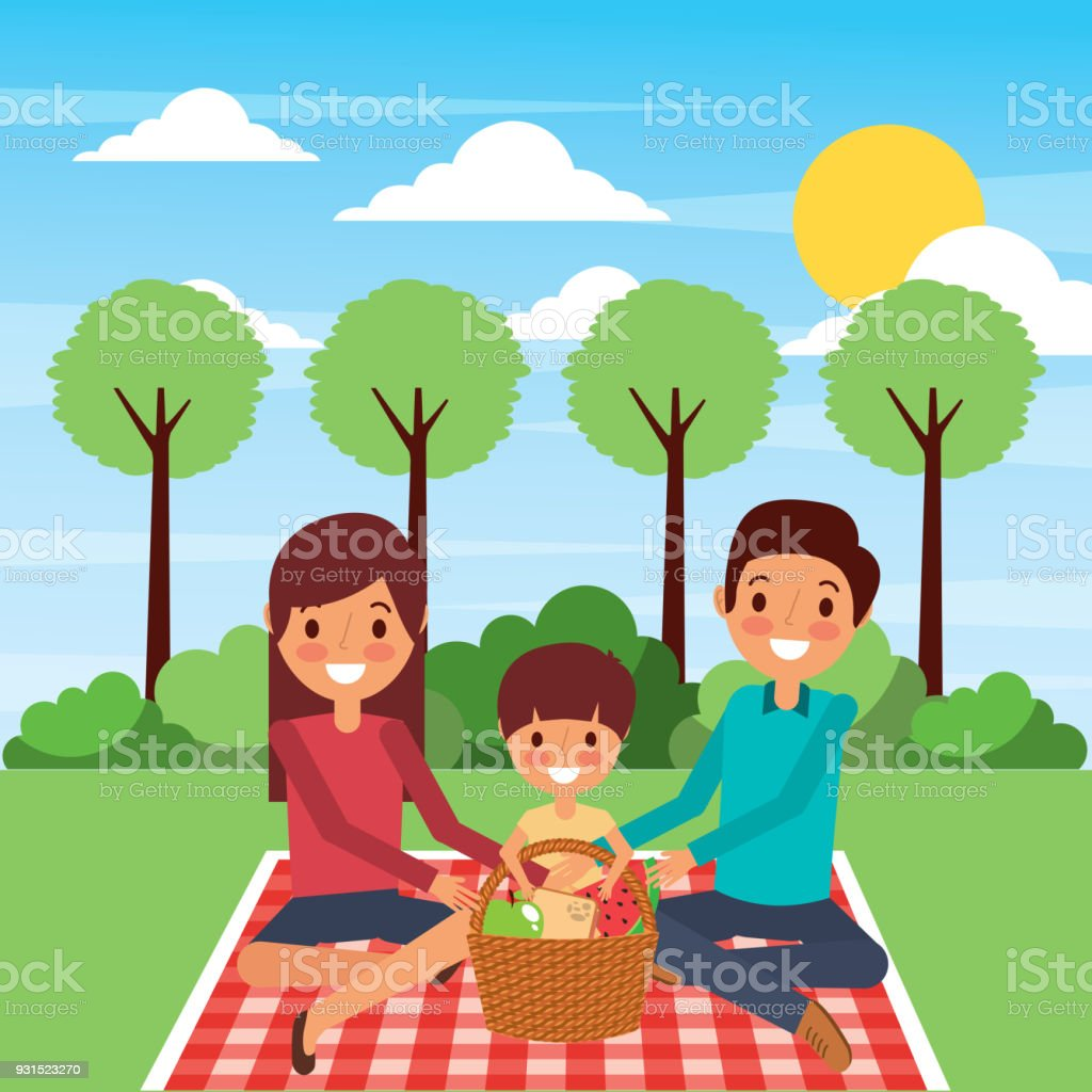 Family picnic pictures clip art best graphic sharing royalty free miniature picnic baskets clip art vector images rh istockphoto com picnic border clip art family reunion clip art thecheapjerseys Gallery