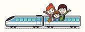 Family Train Trip.