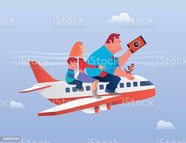 Family traveling vector id506906484?b=1&k=6&m=506906484&s=612x612&h=zjhji2k9ufsnqhcbht2wjwozjem9getfgxku0pqaass=