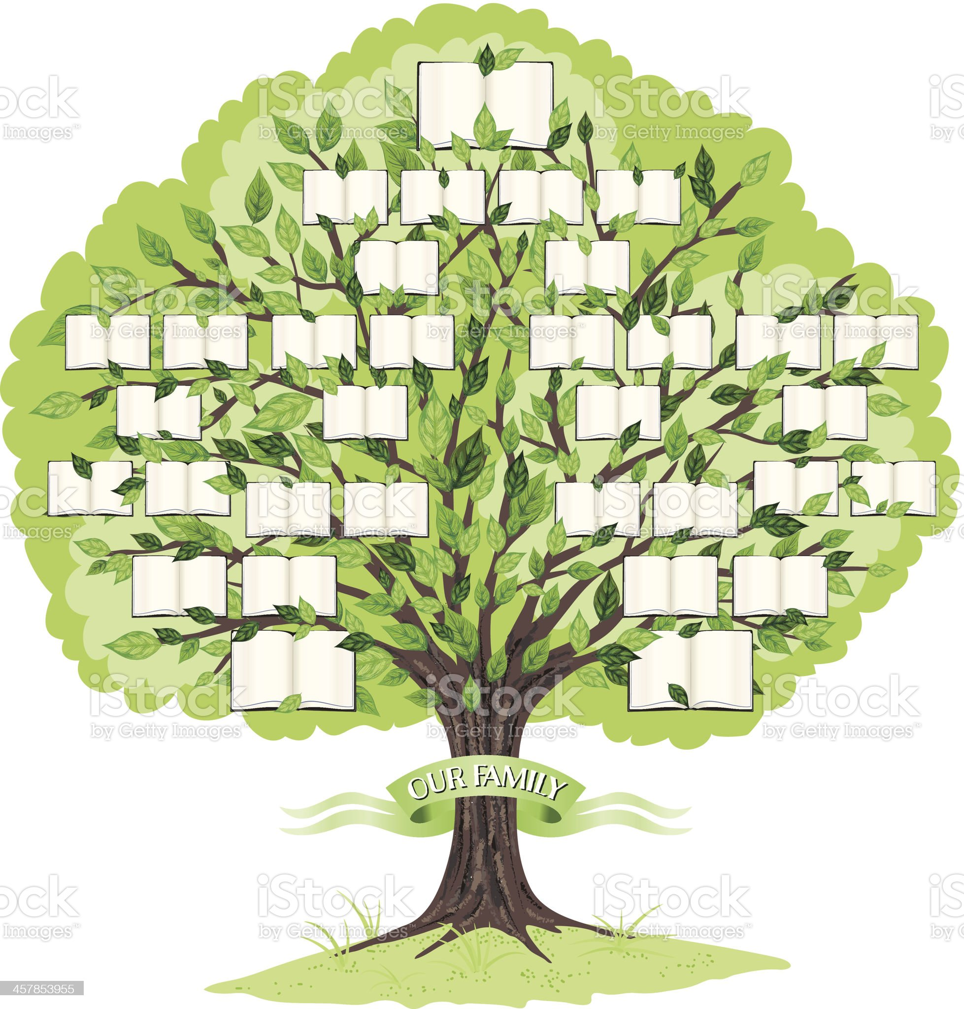 Family Tree Template royalty-free family tree template stock vector art & more images of family tree