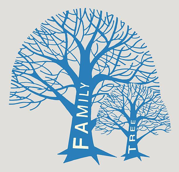 family tree trees - family reunion stock illustrations, clip art, cartoons, & icons