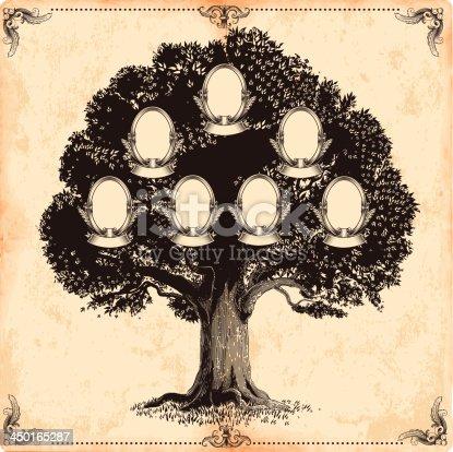 istock Family tree 450165287