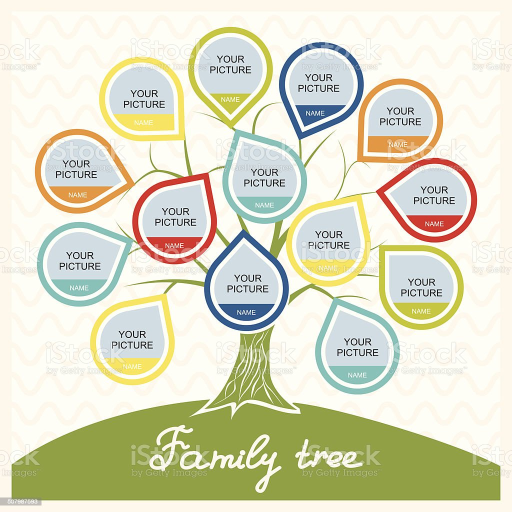 Family Tree Stock Vector Art 507987593 Istock