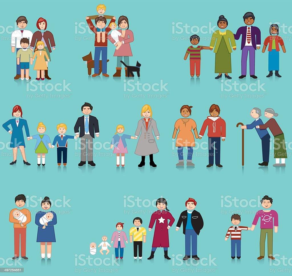 Famiglia Unità Di Immagini Vettoriali Stock E Altre Immagini Di 12