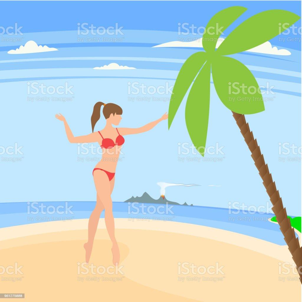 family vacation on the sunny coast of exotic countries royalty free family vacation on the
