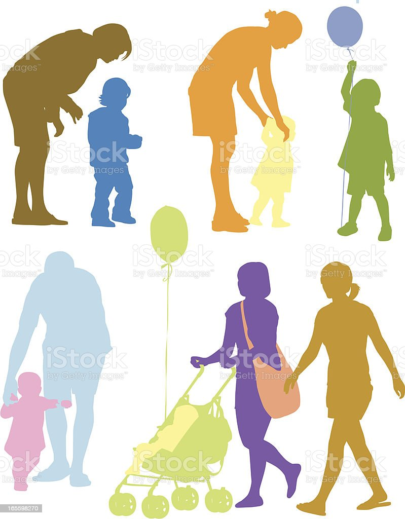 Family royalty-free family stock vector art & more images of 12-17 months
