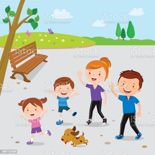Family walking in the park vector id869703056?b=1&k=6&m=869703056&s=612x612&h=tgyeefi eh jceppdgaanxt1dorgmatlshnij e5tzq=