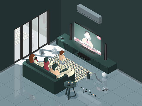 Family Watching News