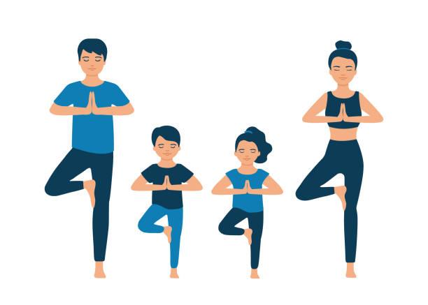 adults and kids yoga