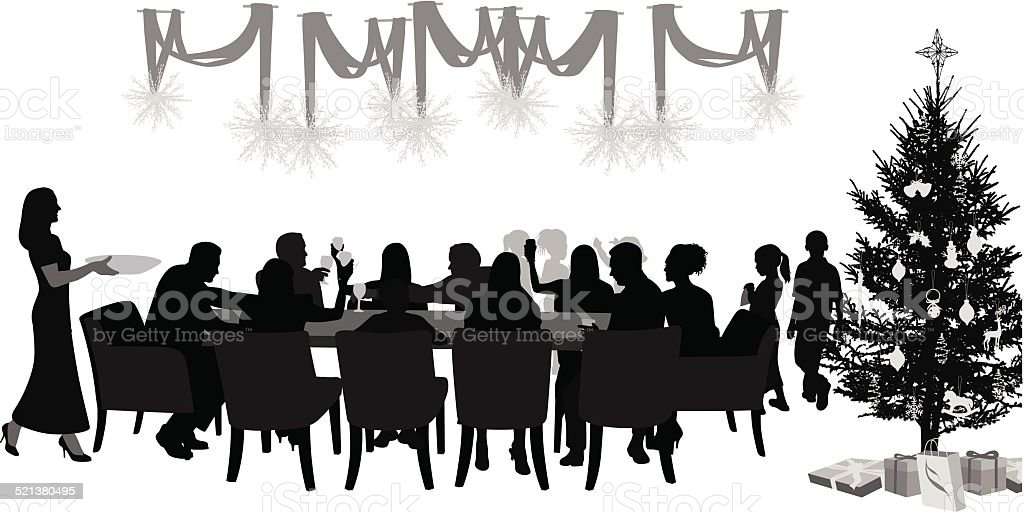 FamilyReunions vector art illustration