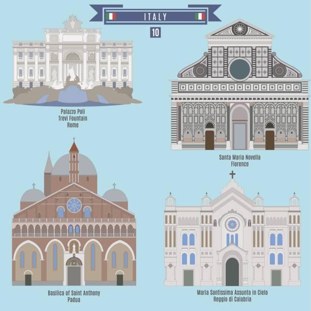 berühmte orte in italien - padua stock-grafiken, -clipart, -cartoons und -symbole