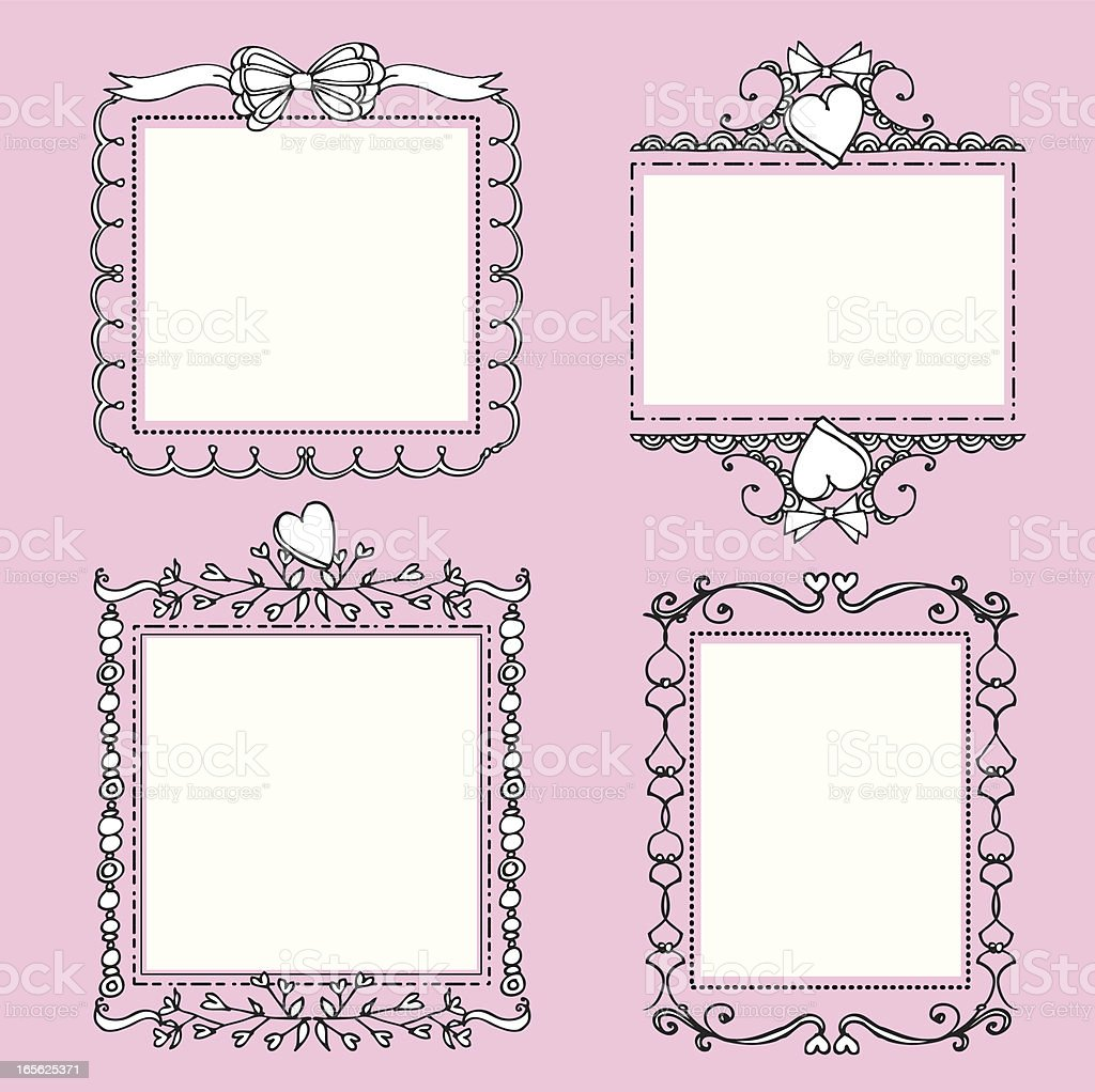 Fancy Blank Frames royalty-free fancy blank frames stock vector art & more images of backgrounds