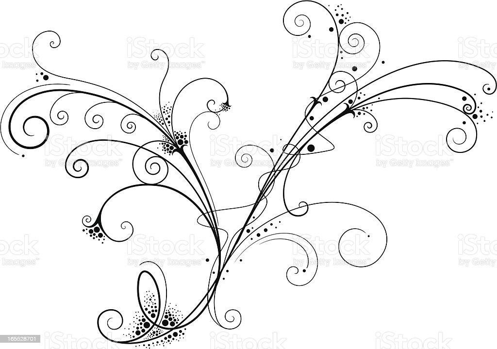Fancy Filigree royalty-free fancy filigree stock vector art & more images of art