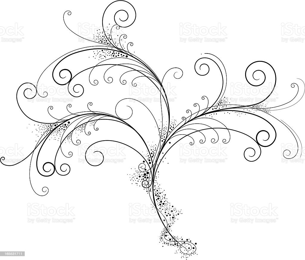 Fancy Filigree royalty-free fancy filigree stock vector art & more images of art