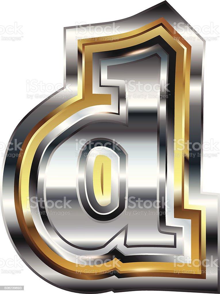 Fancy font Letter d royalty-free fancy font letter d stock vector art & more images of alphabet