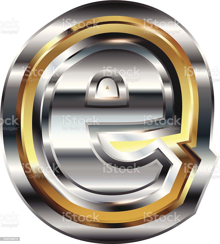 Fancy font Letter e royalty-free fancy font letter e stock vector art & more images of alphabet