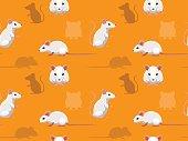 Fancy Mouse Cartoon Seamless Wallpaper