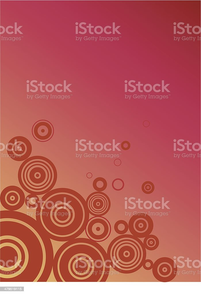 Fancy red background royalty-free stock vector art