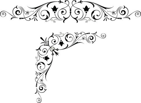 Fancy Scroll and Centre Art Design