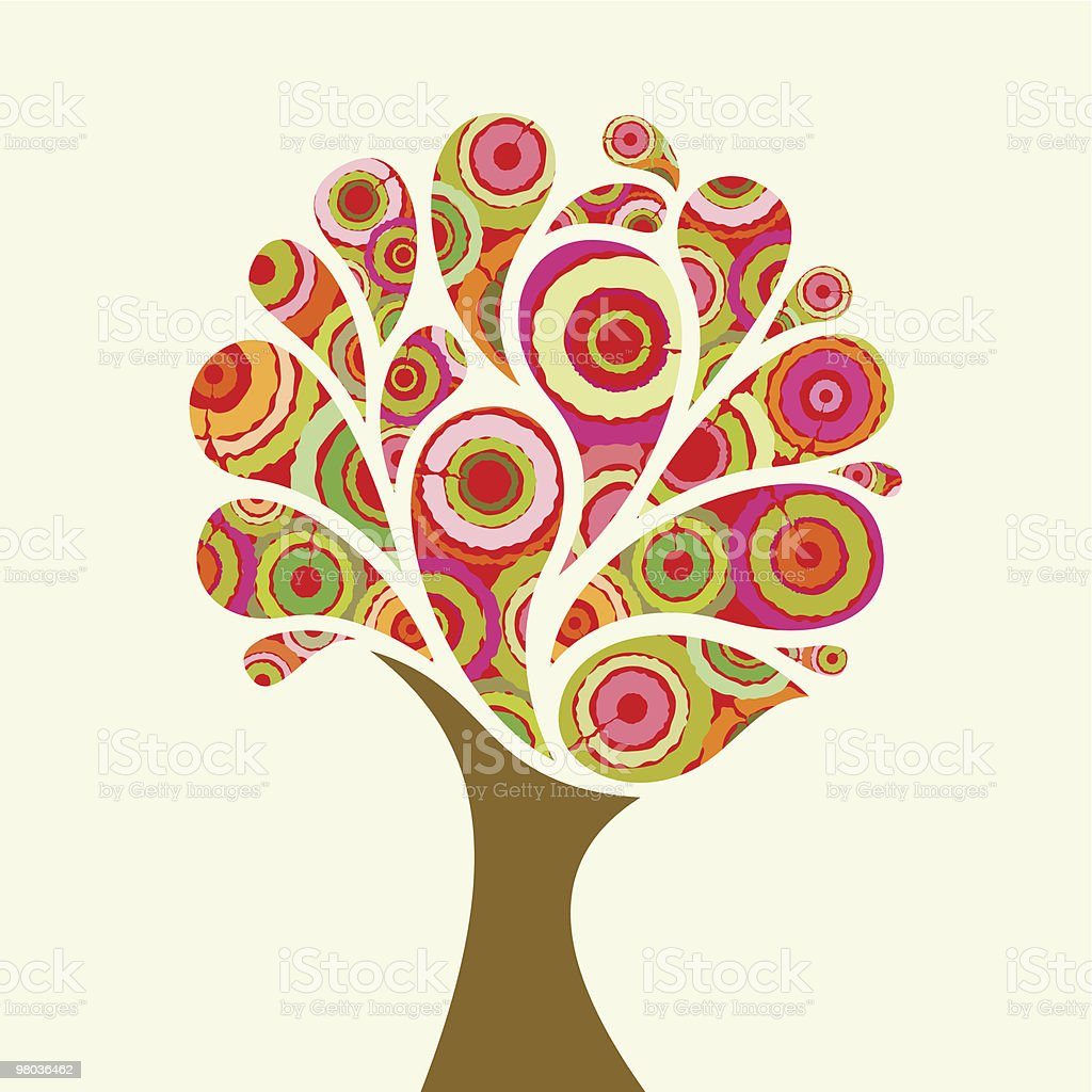 Fancy tree royalty-free fancy tree stock vector art & more images of abstract