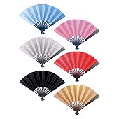 Fans in different colors