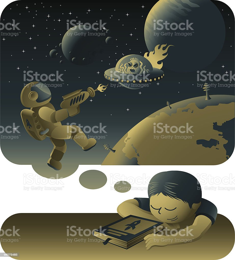 fantastic dream royalty-free stock vector art