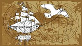 Fantastic journey on an airship