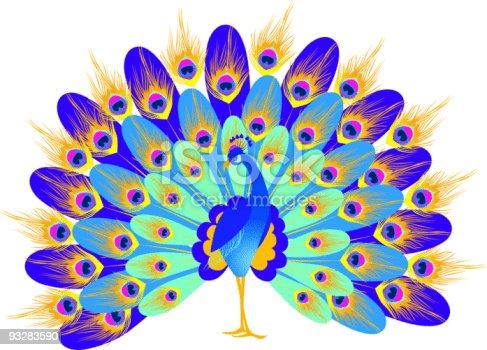 istock fantastic peacock 93283590