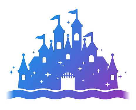Fantasy Castle Silhouette