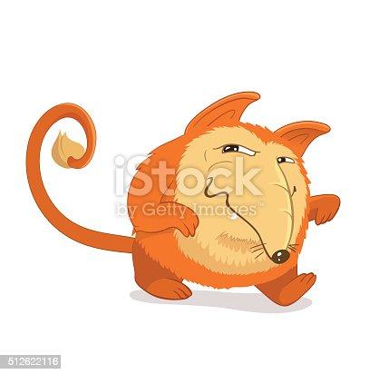 cad2790f4b Vetor de Personalidade Reminiscentes De Fantasia De Raposa Vermelha Ou  Cachorro e mais banco de imagens de Animal | iStock