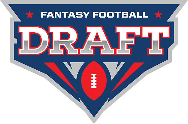 Fantasy Football Draft vector art illustration