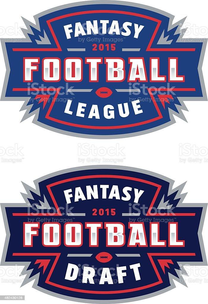 Fantasy Football League vector art illustration