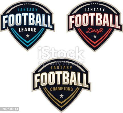 Ilustración de Fantasía Logotipos De Fútbol y más banco de imágenes de  Deportes de fantasía 507516141  a8670ccdca661