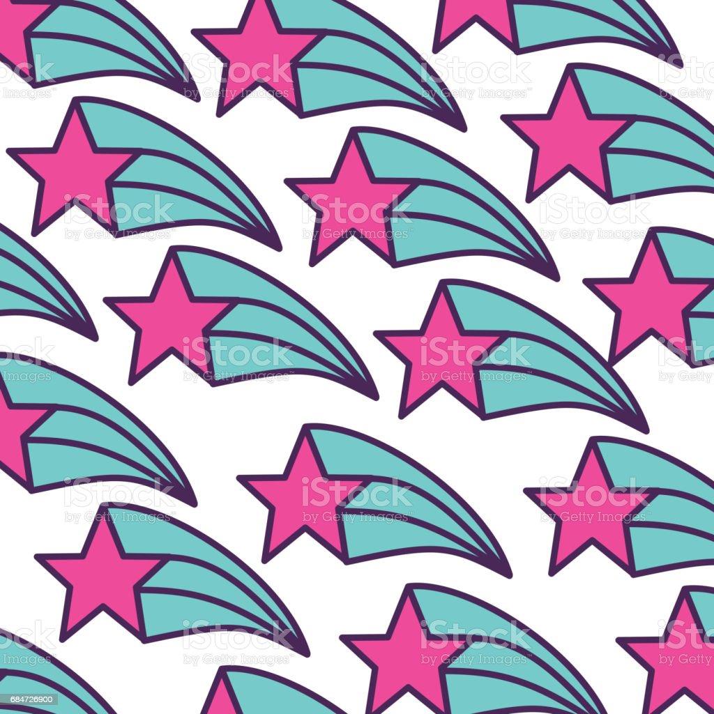 fantasie stern muster symbol lizenzfreies fantasiesternmustersymbol stock vektor art und mehr bilder von - Stern Muster