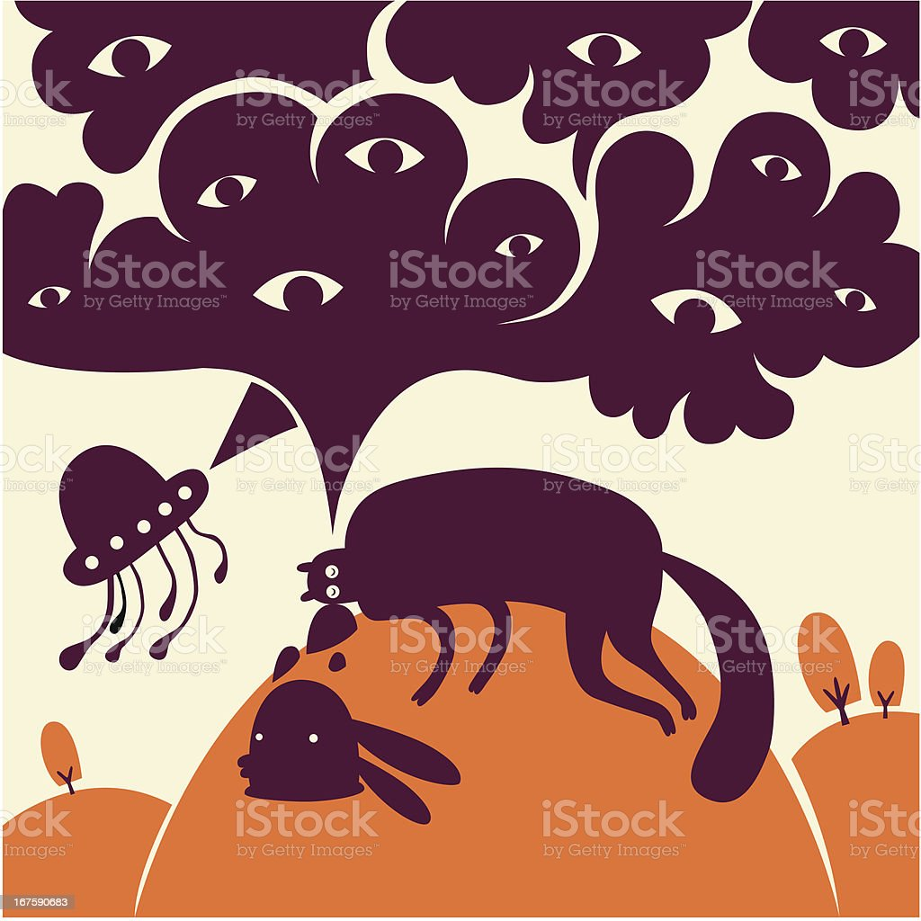 Fantasy story royalty-free stock vector art