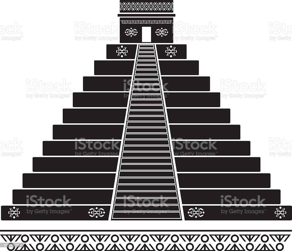 fantasy temple vector art illustration